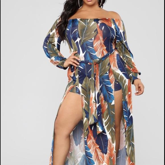 FashionNova Plus Size Maxi Dress Boutique